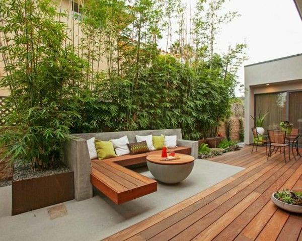 Sitzecke im Garten  Relax im Grnen