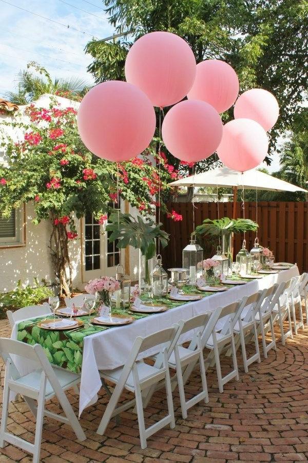 Fantastische Tischdeko fr Gartenparty   Archzinenet