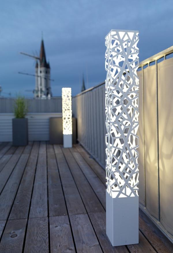 Gartenlampe  43 erstaunliche Ideen zur Inspiration