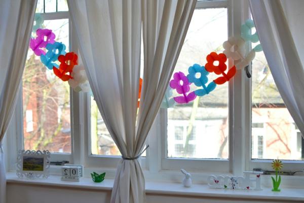 25 kreative Ideen fr Fensterdeko zum Frhling  Archzinenet