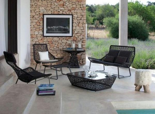 Moderne und attraktive Terrassenmbel
