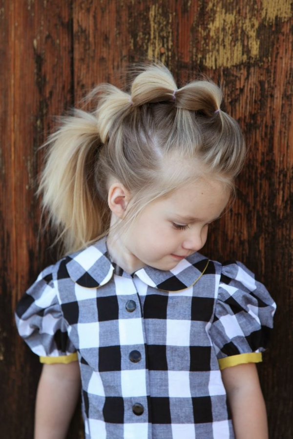 45 wunderschne Frisuren fr kleine Mdchen  Archzinenet