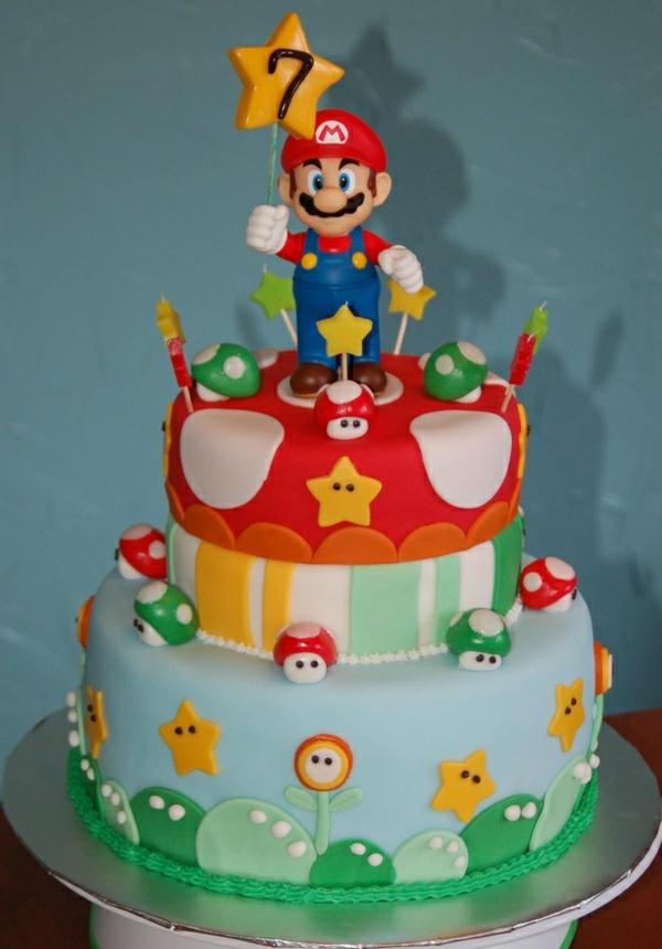 Super Mario Torte  46 erstaunliche Bilder  Archzinenet