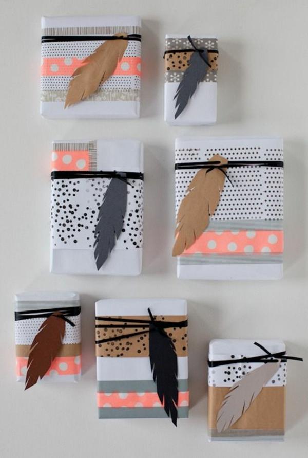Geschenke verpacken  70 fantastische Ideen  Archzinenet
