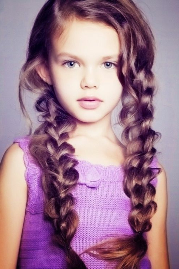 45 Wunderschöne Frisuren Für Kleine Mädchen! Archzine Net