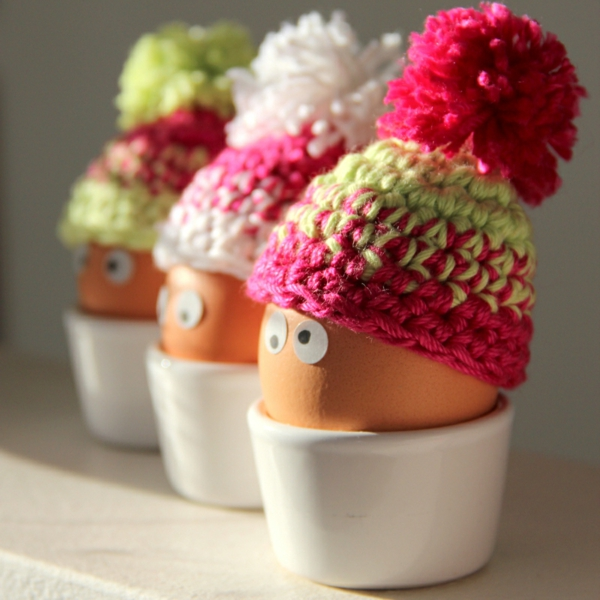 Eierwrmer hkeln  35 coole Vorschlge fr Ostern