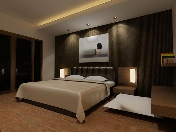 beleuchtung schlafzimmer ideen – abomaheber, Schalfzimmer deko