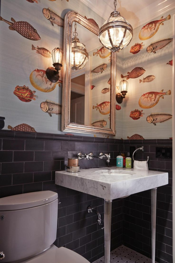Schne Tapeten mit Fischen  21 Vorschlge  Archzinenet