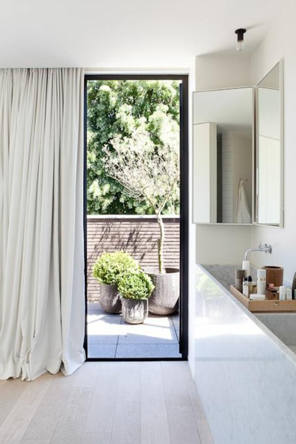 Bodentiefe Fenster 29 schicke Gestaltungen  Archzinenet