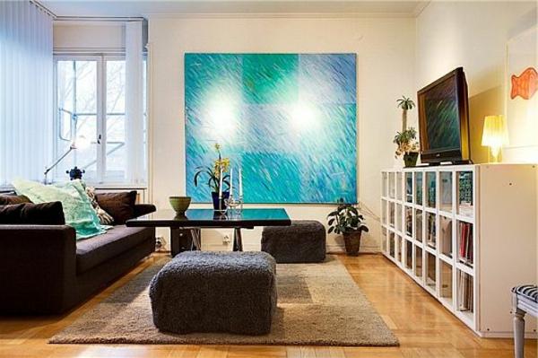 Wohnzimmer Design Turkis