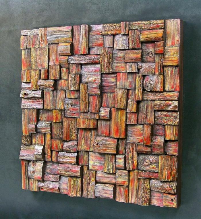 40 verblffende Ideen fr Wanddeko aus Holz  Archzinenet