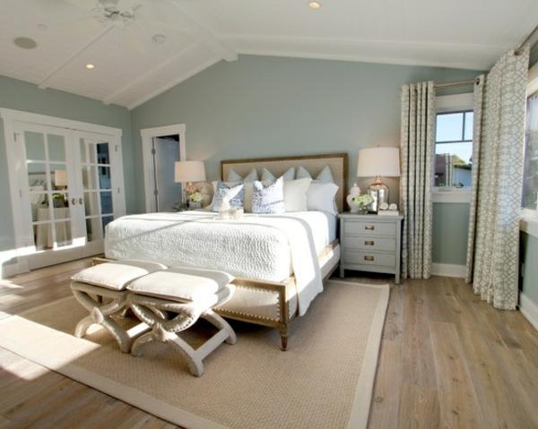 coole deko ideen und farbgestaltung fürs schlafzimmer - freshouse ...