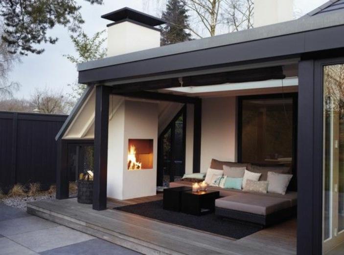 Offene Feuerstelle 25 zeitgenssische Designs  Archzinenet