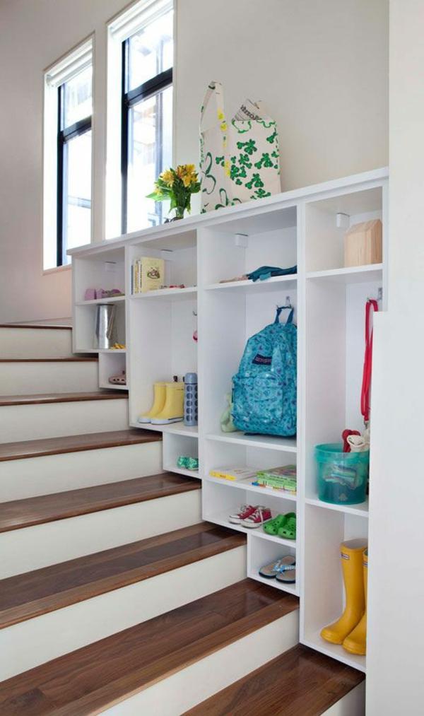 Regal Treppe kluge Idee fr Ihr Zuhause