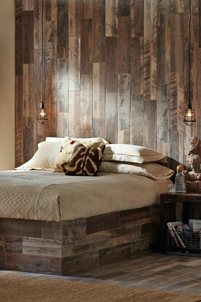 Wandverkleidung aus Holz  95 fantastische Design Ideen  Archzinenet
