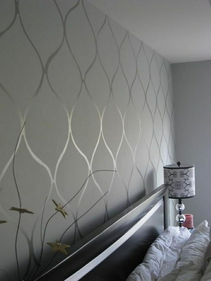 Tapete in Grau  stilvolle Vorschlge fr Wandgestaltung