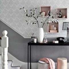Colour Ideas Living Room Dado Rail Feature Wall For Tapete In Grau - Stilvolle Vorschläge Für Wandgestaltung ...