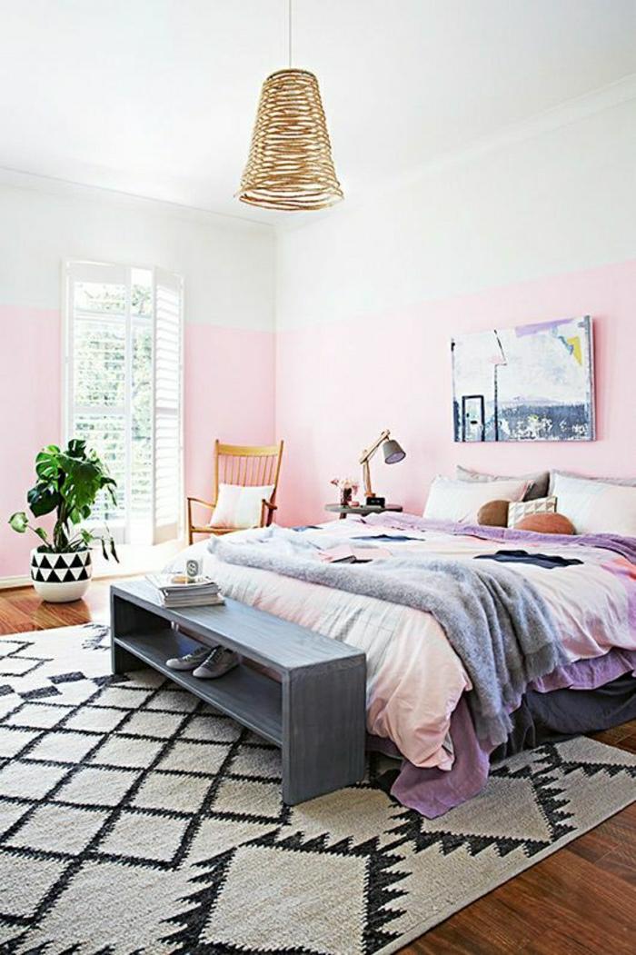 schlafzimmer ideen hellblau  23 treppengeländer streichen