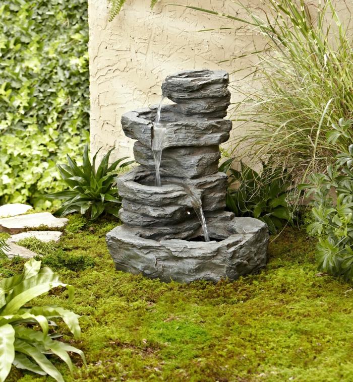 gartenbrunnen stein gartengestaltung waldoo xyz garten ideen | moregs, Hause und garten