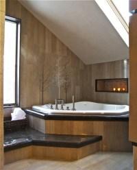 Badewanne unter Dachschrge: 22 se Modelle! - Archzine.net