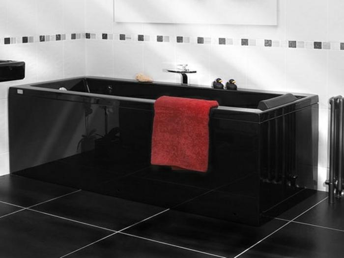 38 Beispiele fr Badezimmer in Schwarz  Archzinenet