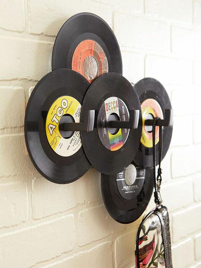 Originelle Vorschlge fr Deko mit Schallplatten  Archzinenet