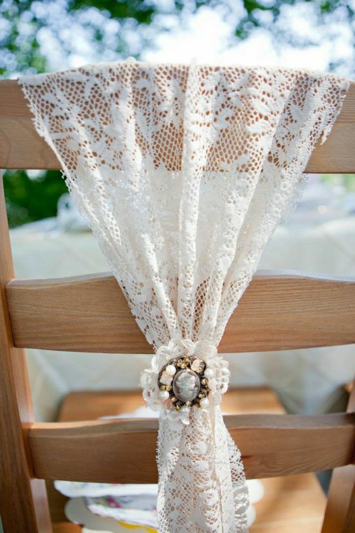 Hochzeitsdeko fr Sthle  111 faszinierende Ideen