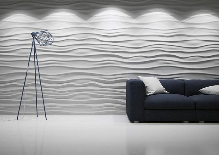 41 Futuristische Buro Einrichtung Mit Metall 3d Wandpaneelen - ellar ...