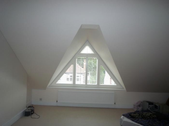 Tolle Bilder von Gardinen fr Dreiecksfenster  Archzinenet