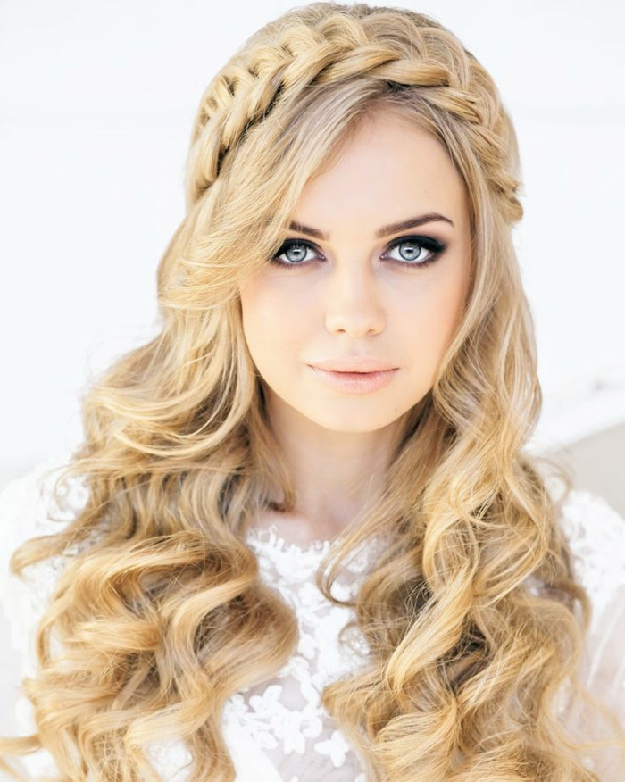 44 Schöne Hochzeitsfrisuren Für Lange Haare! Archzine Net