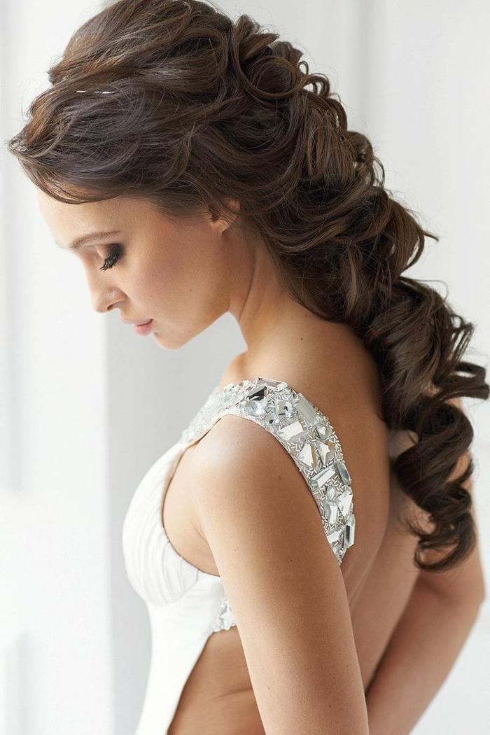 44 schne Hochzeitsfrisuren fr lange Haare