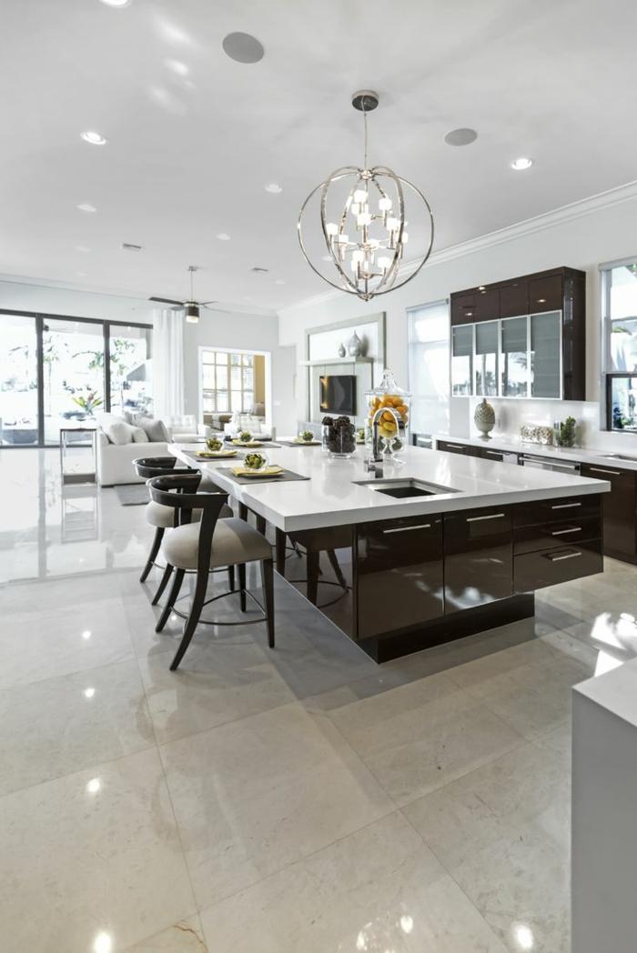 Kche mit Kochinsel 50 tolle Gestaltungen