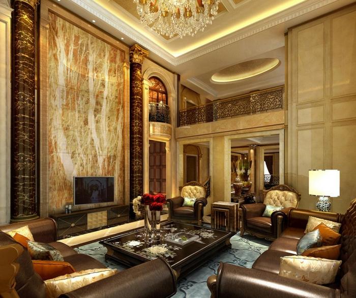 Luxus Wohnzimmer 81 verblffende Interieurs  Archzinenet