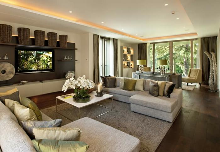 luxus wohnzimmer modern dumss com - boisholz - Wohnzimmer Modern Luxus
