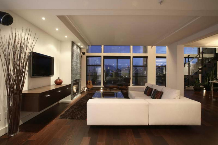 wohnzimmer modern luxus - boisholz - Luxus Wohnzimmer