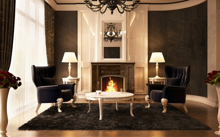 Luxus Wohnzimmer 81 verblffende Interieurs