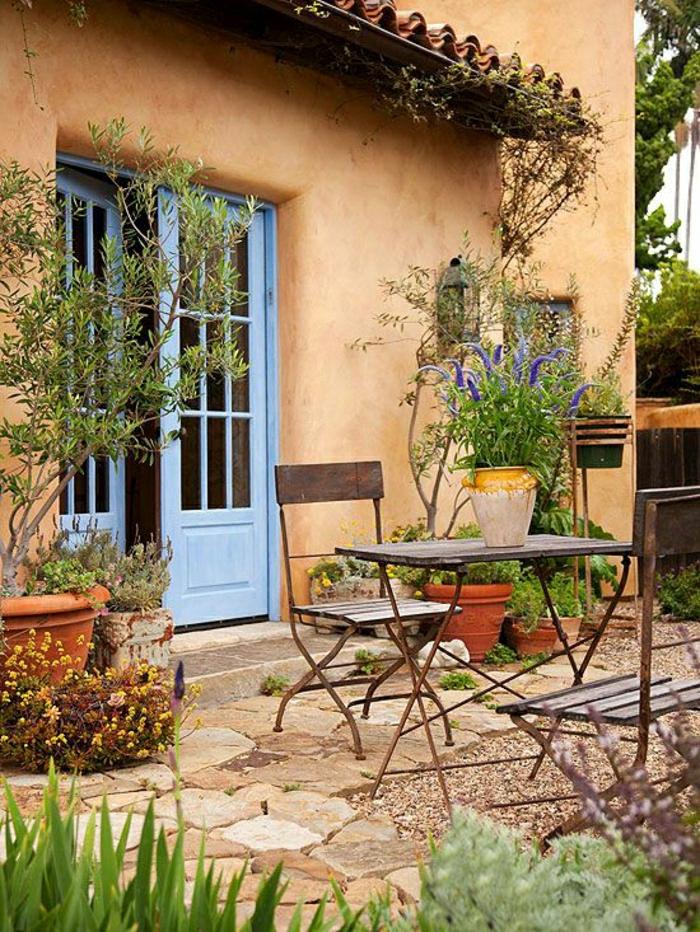 Mediterrane Gartengestaltung  31 attraktive Bilder  Archzinenet