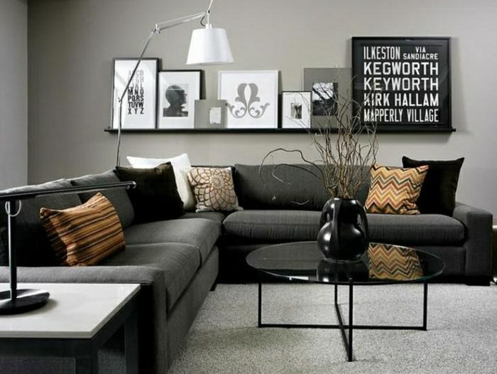 Wohnzimmer Einrichten Grau Blau | Tesoley.Com