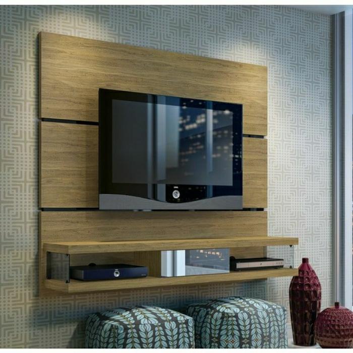 TV Wandpaneel  35 ultra moderne Vorschlge  Archzinenet