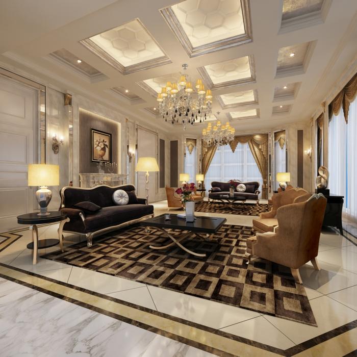 64 Beispiele fr elegantes Wohnzimmer  Archzinenet