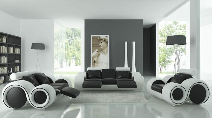 Wohnzimmer Grau Einrichten Und Dekorieren. Stunning Wohnzimmer