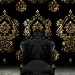 Black Velvet Throne Chair Tall Computer Der Barock Sessel - 35 Schöne Ideen Archzine.net