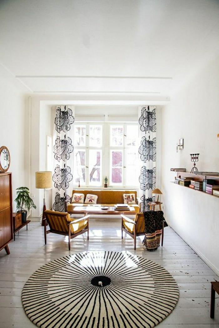 Wohnzimmer Teppich Vintage