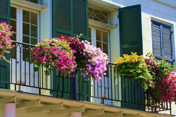 Balkon Blumen fr eine schne Auengestaltung  Archzinenet