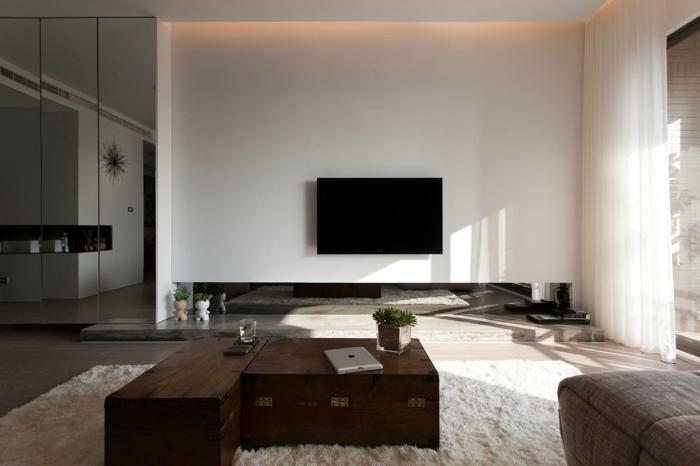 Design Wohnzimmer Design Wand Inspirierende Bilder Von Modernes ... Wohnzimmer Deko Design