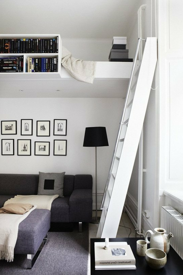 Bett Mit Treppe Fur Erwachsene