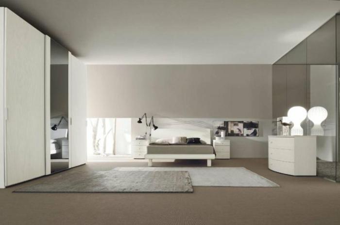 Weisse Schlafzimmer