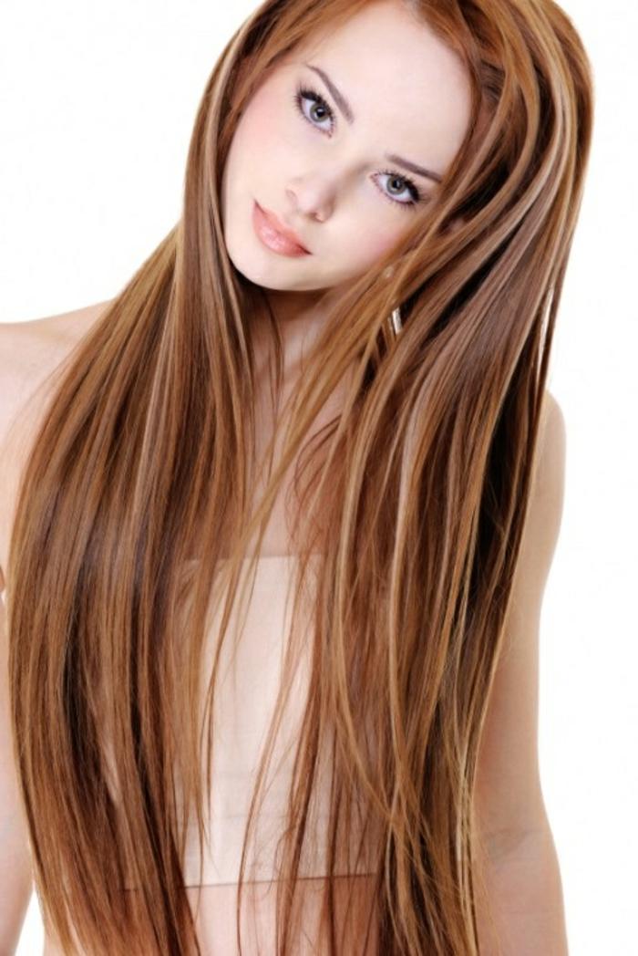 Glatte Haare Frisuren Lang – Trendige Frisuren 2017 Foto Blog
