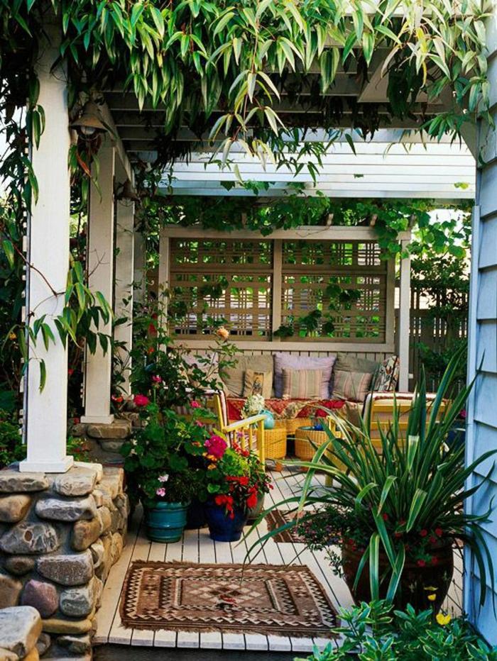Sichtschutz Garten Ideen Selber Bauen Perfekt Eingepasst System