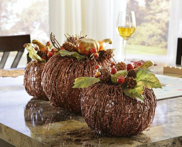 40 tolle Varianten fr Tischdeko im Herbst